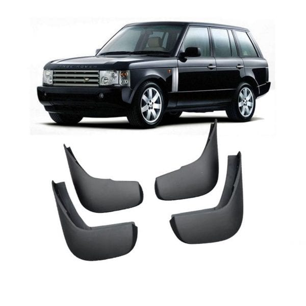 Front And Rear Mud Flaps For Use With Land Rover – Range Rover Vogue 2002 – 2012 - chameleonsidesteps.co.uk
