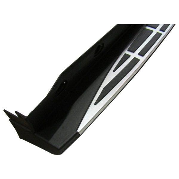 Side Steps For Use With Hyundai Santa Fe 2013 To 2018 - chameleonsidesteps.co.uk