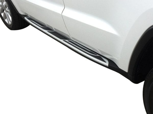 Side Steps For Use With Jeep Grand Cherokee 2011 To Present - chameleonsidesteps.co.uk