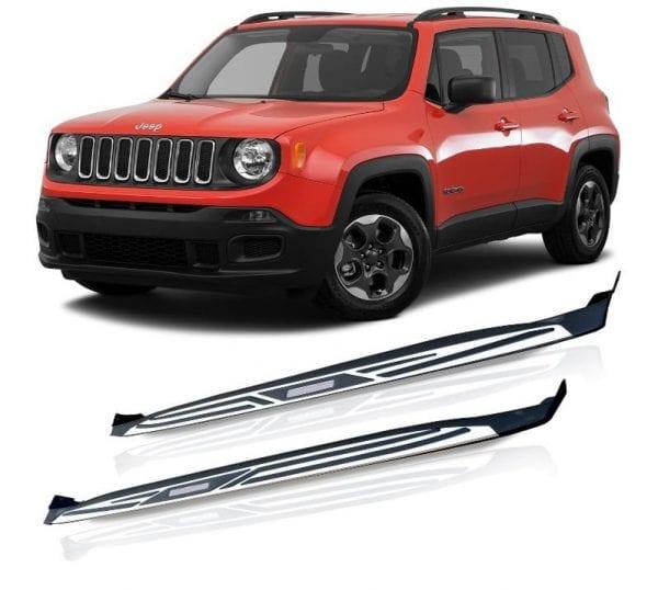 Side Steps For Use With Jeep Renegade 2014 To 2018 - chameleonsidesteps.co.uk