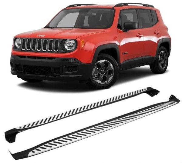 Side Steps For Use With Jeep Renegade 2015 To Present - chameleonsidesteps.co.uk