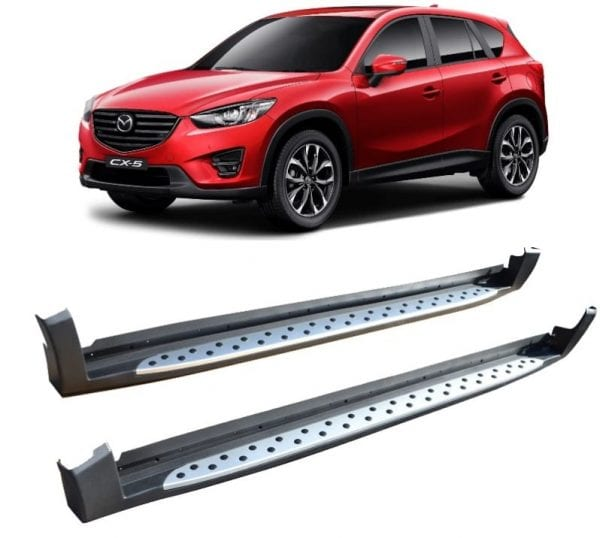 Side Steps For Use With Mazda Cx-5 2012 – 2017 - chameleonsidesteps.co.uk