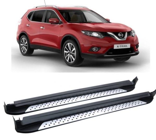Side Steps For Use With Nissan X-trail 2013 To 2018 - chameleonsidesteps.co.uk