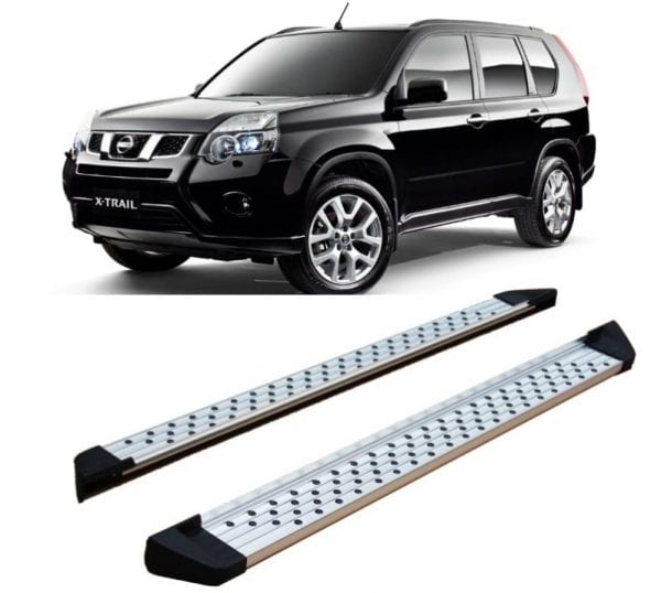 Side Steps For Use With Nissan X-trail 2007 – 2013 - chameleonsidesteps.co.uk