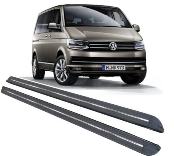 Side Steps For Use With Volkswagen T6 Multivan (swb) 2016 To2018 - chameleonsidesteps.co.uk