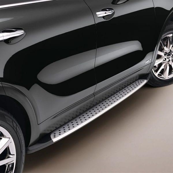 Side Steps For Use With Kia Sorento 2015 To 2018 - chameleonsidesteps.co.uk