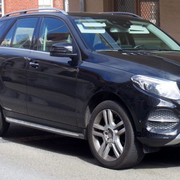 Side Steps For Use With Mercedes Gle (w166) 2012 – 2018 - chameleonsidesteps.co.uk