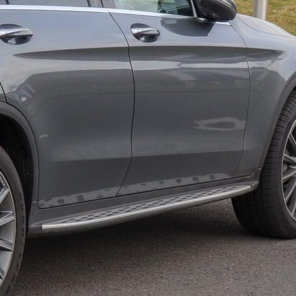 Side Steps For Use With Mercedes Glc (x253) 2015 – 2018 - chameleonsidesteps.co.uk