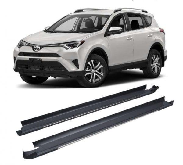 Side Steps For Use With Toyota Rav4 2016 – 2018 - chameleonsidesteps.co.uk