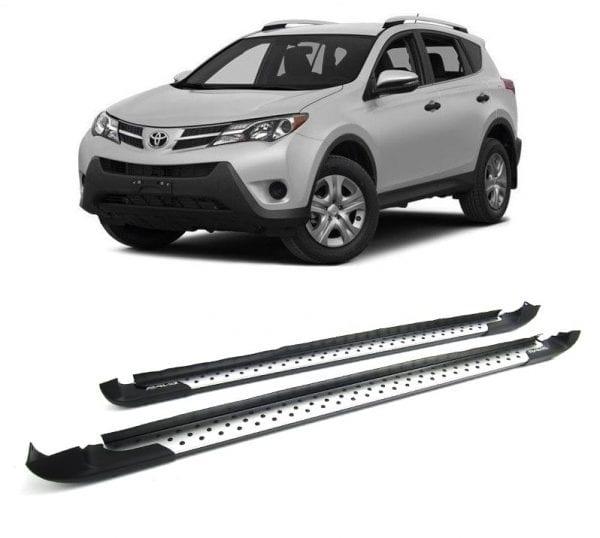 Side Steps For Use With Toyota Rav4 2013 – 2015 - chameleonsidesteps.co.uk
