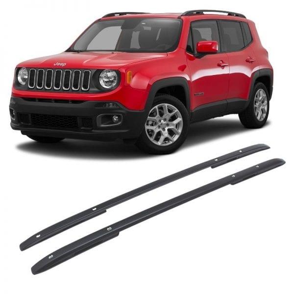 Raised Roof Rails For Use On Jeep Renegade 2014 – 2018 - chameleonsidesteps.co.uk