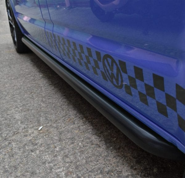 Side Steps For Use With Volkswagen T5 Multivan / Caravelle (swb) 2003 – 2015 - chameleonsidesteps.co.uk