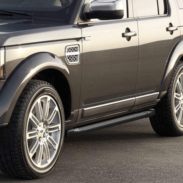 Side Steps For Use With Land Rover Discovery 3 / 4 (l319) 2004 – 2016 - chameleonsidesteps.co.uk