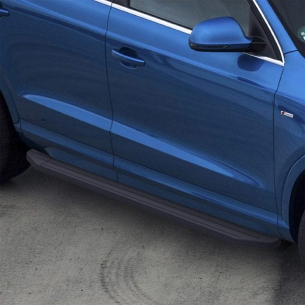 Heavy Duty Side Steps / Running Boards For Use On Audi Q3 2012 – 2017 - chameleonsidesteps.co.uk