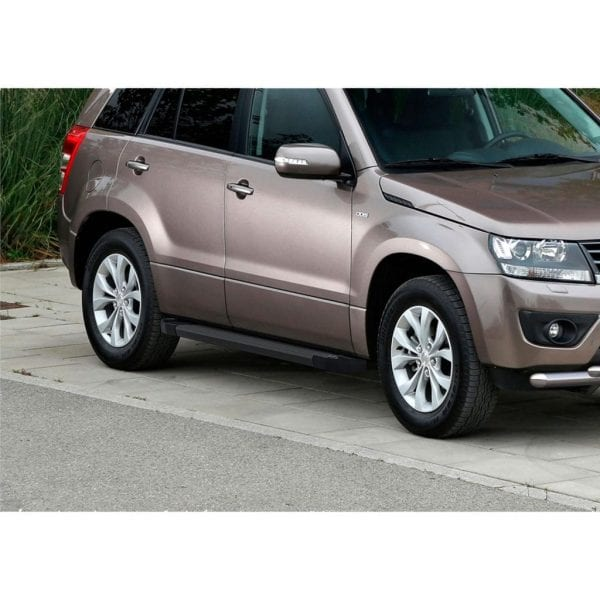 Side Steps / Running Boards For Use On Suzuki Grand Vitara 3rd Gen 2006 – 2014 - chameleonsidesteps.co.uk