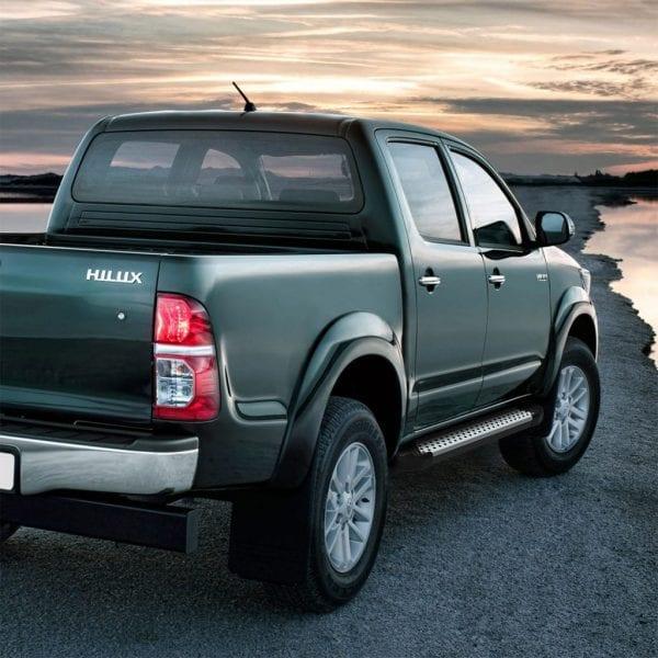 Side Steps / Running Boards For Use On Toyota Hilux Double Cab 7th Gen 2005 – 2015 - chameleonsidesteps.co.uk