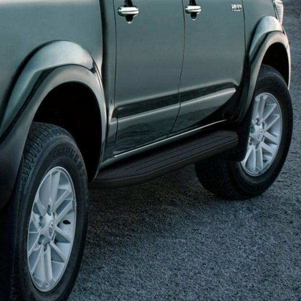 Side Steps / Running Boards For Use On Toyota Hilux Double Cab 7th Gen 2005 – 2015 - chameleonsidesteps.co.uk