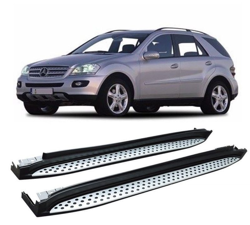 Side Steps For Use With Mercedes Ml W164 2006 2011