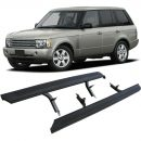 Side Steps for use with Land Rover - Range Rover Vogue 2002-2012 with Mudflaps