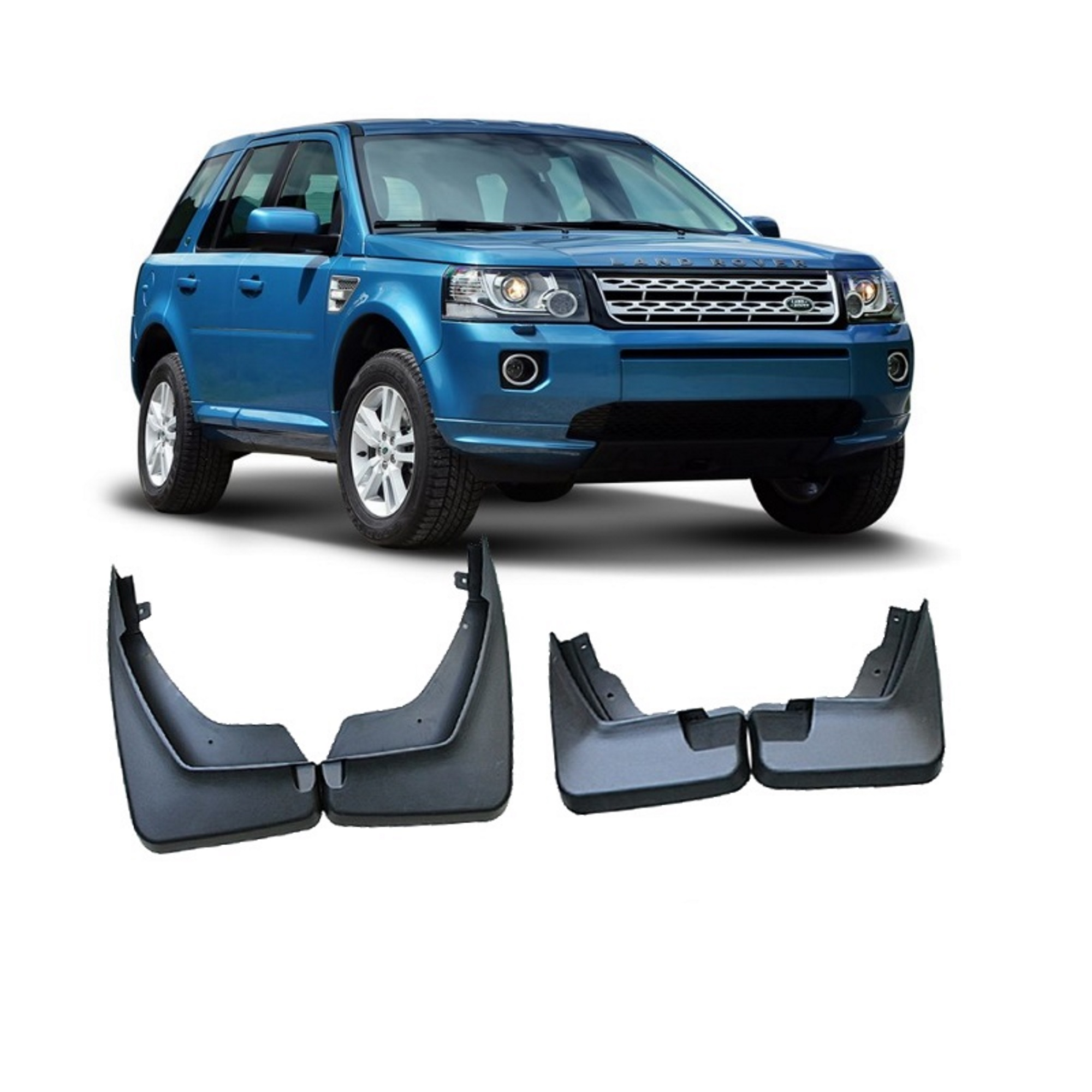 Land Rover Freelander 1: Land Rover Freelander 2 New Mud Flaps Front And Rear