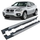 Side Steps for use with BMW X6 (E71) 2008 – 2015