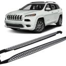 Side Steps for use with Jeep Cherokee 2014 to Present