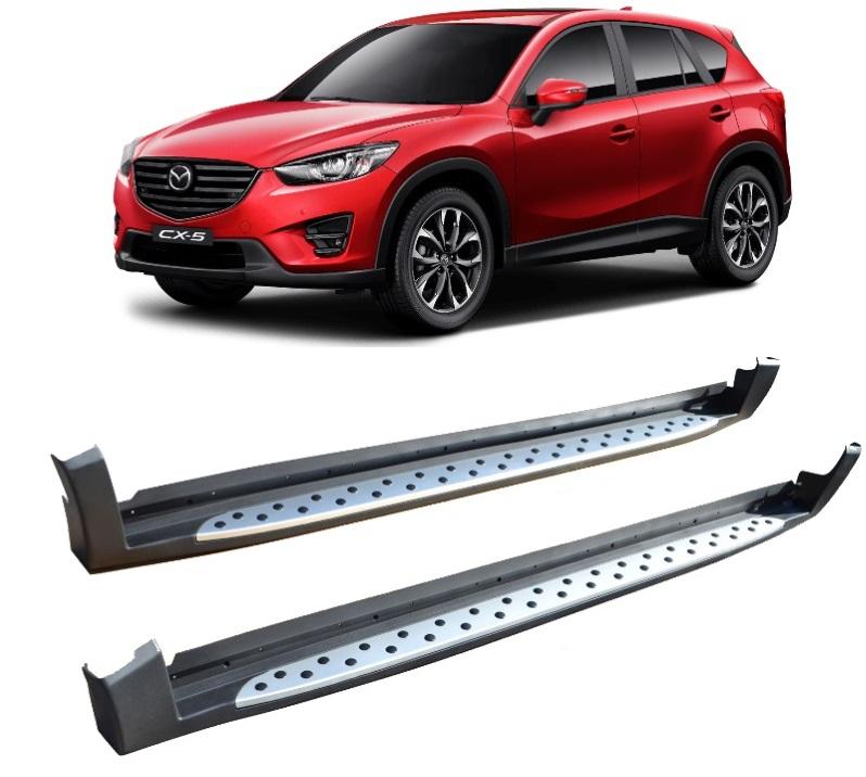 Side Steps For Use With Mazda Cx 5 2012 2017 Chameleon Side Steps